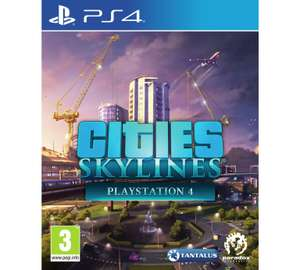 Cities Skylines on ps4 at Argos for £27.99