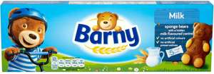 Barny Sponge Bear Milk (5 Pack = 150g) Half Price was £1.69 now 84p @ Tesco