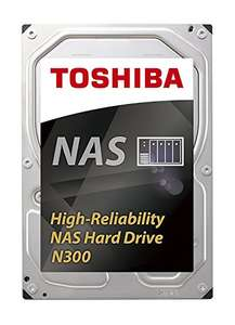 Toshiba N300 High Reliability 6TB Internal NAS Hard Drive (Bulk) 3.5 Inch SATA - HDWN160UZSVA at Amazon for £174.98