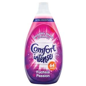 Comfort Fabric Conditioner - Fuchsia Passion (960ml = 64 Washes) was £2.79 now £2.49 @ B&M