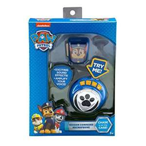 Paw patrol voice change communicator. £12.50 delivered at Debenhams with code.