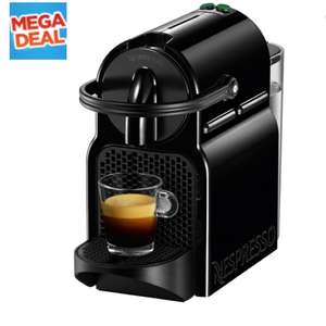 NESPRESSO by Magimix Inissia 11350 Coffee Machine - Black. £49 @Currys + Claim a FREE aeroccino milk frother (worth £50!) when you purchase this product and 150 Nespresso Grand Cru Capsules
