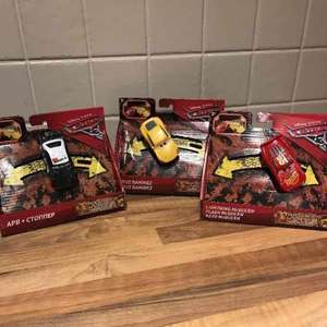 Cars 3 Crazy 8 cars £3.75 Tesco Bournemouth