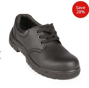 Black Safety Shoes @ £15.58 at Nisbets