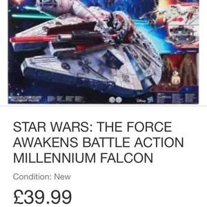Starwars force awakens battle action millennium falcon £39.99 @ eBay / a4onlinewarehouse