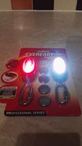 B&M Eveready CoB LED Twin Lights (Red and Daylight white) £3.99 Handy emergency bike lights?