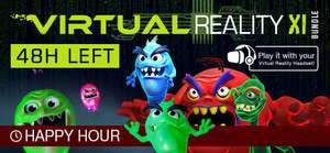IndieGala VR Virtual Reality Bundle XI 11 Games £3.88 Steam Keys £48.69 Valueish