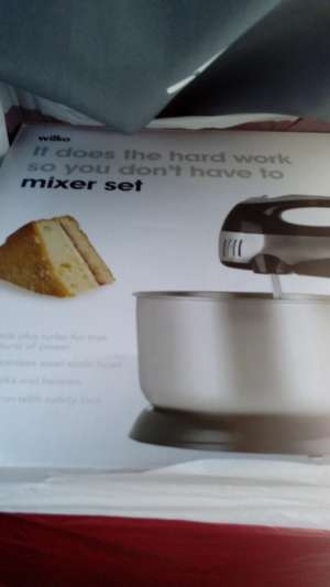 Wilko's mixer set scanning at £5 instead of £10 in Chester