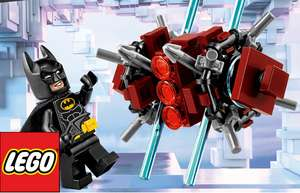 O2 Priority Free Lego Batman 30552 any purchase Lego shop online