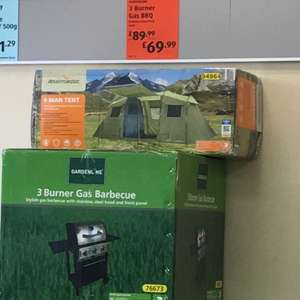 3 Burner Gas Barbecue in Aldi (Bedminster) for £69.99