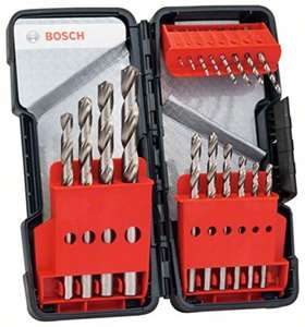 Bosch Metal Drill Bit Set (18-Piece) £19.95 (Prime) £23.94 (Non Prime) @ Amazon