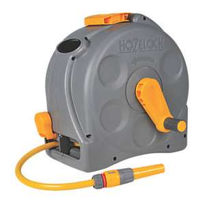HOZELOCK 2-IN-1 COMPACT REEL WITH HOSE 25M in 29.99 at Screwfix