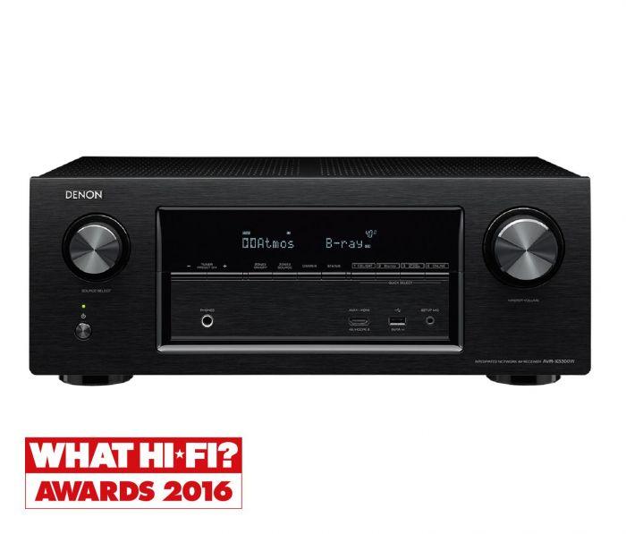 Denon Atmos AV Receiver AVRX3300W @ Richer Sounds - £499