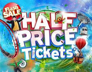 Half Price Tickets back on sale at Drayton Manor