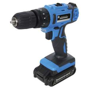 Silverline 18V Li-on Combi Hammer Drill with 3yrs Warranty - £25.33 @ Tesco Direct (Free C&C)