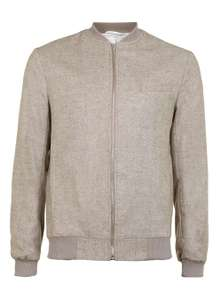 Tailored Bomber Jacket Reduced from £65 to just £5 @ Topman