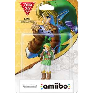 Link (Ocarina of Time) amiibo (The Legend of Zelda Collection) - Nintendo UK Store - £10.99 + £1.99 delivery.