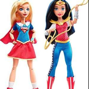 DC Super Hero Girls Wonder Woman or SuperGirl Action Dolls £6.25 Each Instore @Tesco (Basildon,Mayflower )