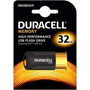 Duracell High Performance 32 GB Capless USB 3.0 Flash Drive  £9.36 (Prime) £13.35 (Non Prime) @ Amazon