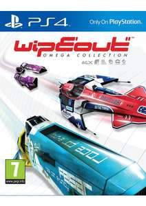 Wipeout Omega Collection on PlayStation 4