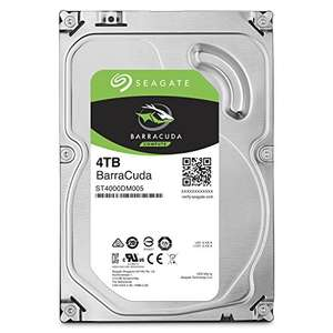 Sagate BarraCuda 4 TB 3.5 inch Hard Drive lowest price! Amazon - £89.04