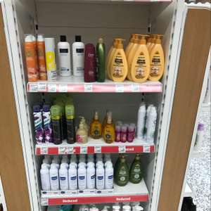 Reduced various hair products etc from 50p instore @ Asda