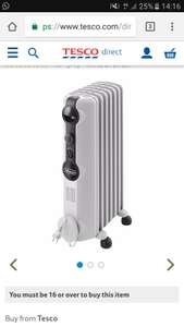 Delonghi RadiaS 1.5kw radiator - £40 @ tesco direct