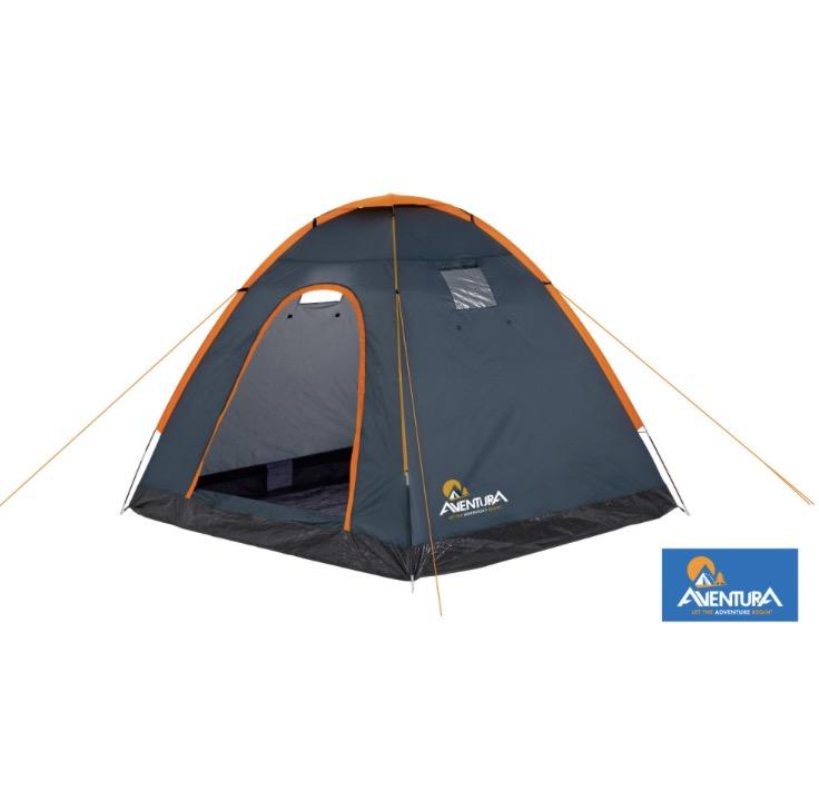 Aventura 4 Man Single Skin Tent £1 @ Halfords