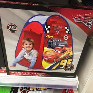 Tesco - Cars 3 Light up tent plus others instore (Durrington) from £1.75