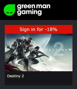 Destiny 2 PC & Pre-order Bonus Coldheart - £36.89 on GMG (sign-in)