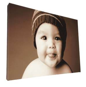 12x8 inch A4 Canvas £3.94 Delivered @ Amazon.co.uk / Dispatched from and sold by Stickers Wall