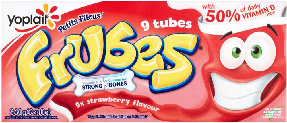 Frubes Strawberry, Red Berry & Peach Yogurt (9 x 40g) was £2.00 now £1.00 (Rollback Deal) @ Asda