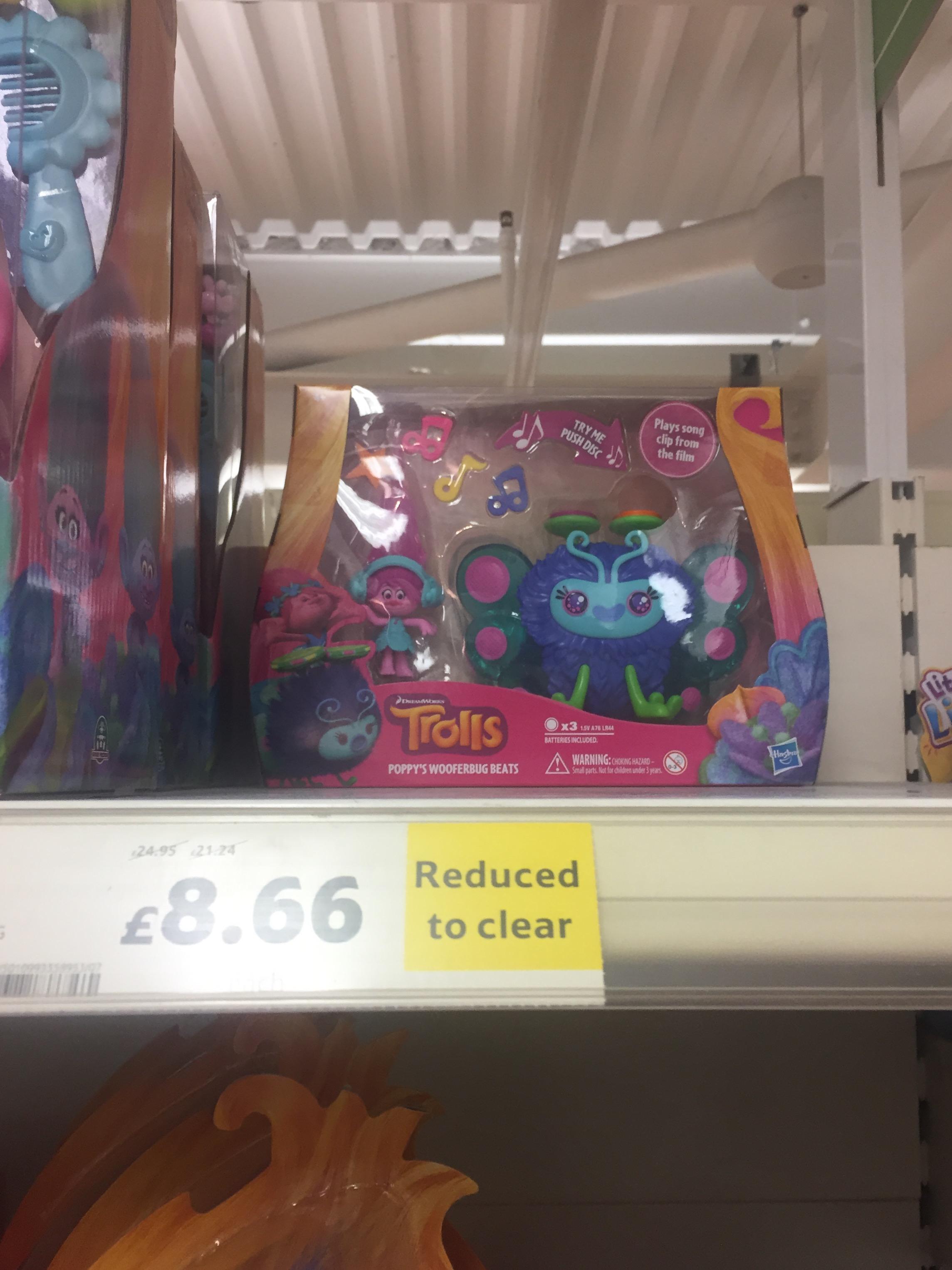 Trolls - Poppy's Wooferbug Beats - Tesco £8.66 instore
