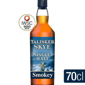 Talisker Skye Single Malt Scotch Whisky (70cl) was £39.00 now £25.00 (Rollback Deal) @ Asda