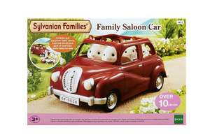 Sylvanian Families Family Saloon Car - Amazon - £13.49 with Prime (£17.48 non Prime)
