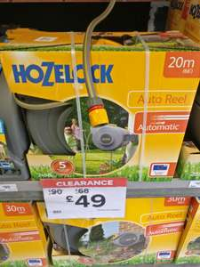 Hozelock AUTO 20M hose £49 from £90 @ B&Q In store and online