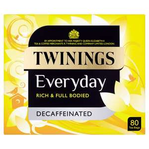 Twinings every day 80 tea bags b&m £1.99 instore