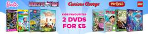 2 KIDS DVD's FOR £5 DELIVERED AT ZOOM PLUS AN EXTRA 10% OFF WITH CODE @ Zoom
