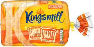 Kingsmill Super Toasty White Bread (750g) was £1.00 now 75p (Rollback Deal) @ Asda