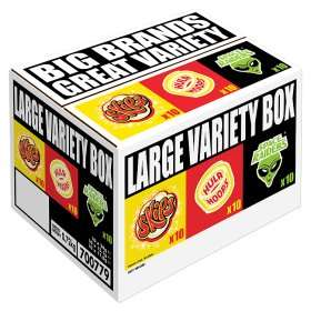 KP Snacks Large Variety (Hula Hoops / Skips / Space Raiders) Box (30 pack) ONLY £3.00 @ Asda