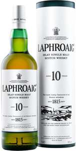 Laphroaig Single Malt Scotch Whisky 10 Years Old was £35.00 now £25.00 (Rollback Deal) @ Asda