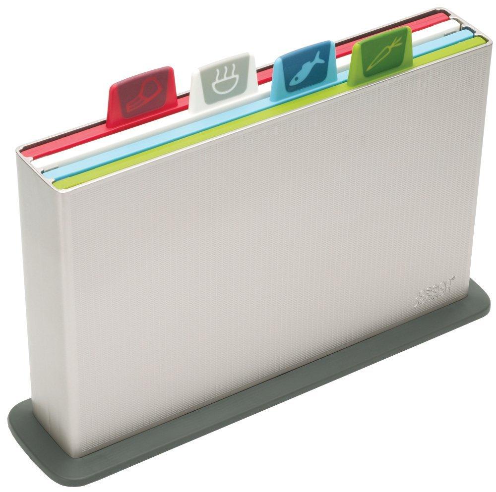 Joseph Joseph Index Chopping Board Set - Silver, Set of 4 (20 cm x 30 cm) £20.97 @ Amazon