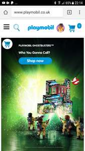 Voucher code for 20% off Playmobil website no minimum spend