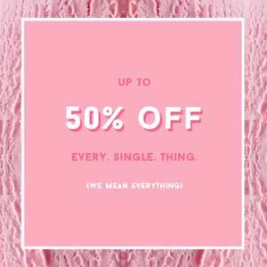 Inthestyle uk - up to 50% of everything starts 8am 25/09/17