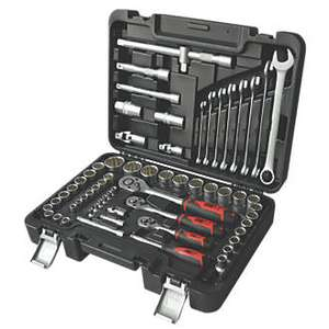 Screwfix 63 piece mixed socket & wrench  set £ 62.99