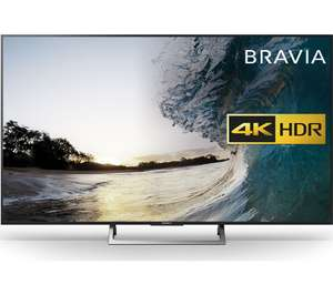 """Sony Bravia 55"""" smart 4K ultra HD HDR LED TV at Currys for £899"""