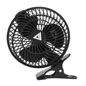 "COLLEN USB 7"" Portable Personal Desktop Table Shelf Plastic Fan £7.99 Sold by Yaxun and Fulfilled by Amazon (Prime or £11.98 non-Prime)"