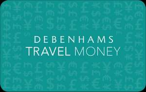 Save the exchange rate at debenhams. Plus £5 off £20 spend if buy more then £50