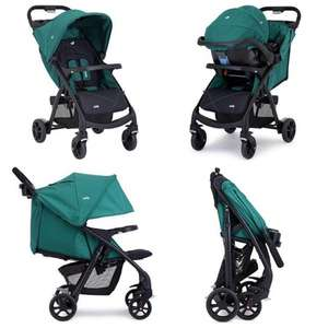 Joie Muze Travel System in Juniper was £160 now £97.95 Delivered in Kiddicare's Bank Holiday Event (also Kiddicare Traffic SP Group 1/2/3 Car Seat age 9mths to 11yrs in Black / Red or Black / Grey now £26.99 (+£2.99 Del)