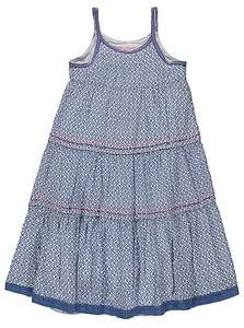 asda george girls maxi floral print tiered dress down from £12 to £6 all sizes available